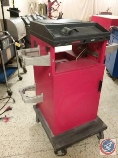 Hunter Enginerring Company P411M Alignment Machine Stand {{NO MACHINE}}