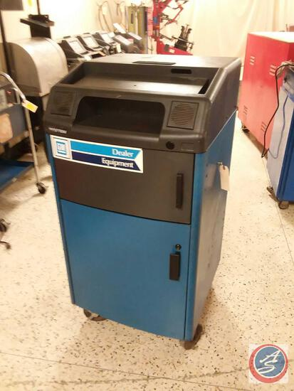 Hunter Enginerring Company R611 Alignment Machine Cabinet {{NO MACHINE}}