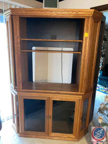 Entertainment Center w/ Storage 38'' x 18'' x 77''