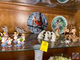 Miniature Collectible Figurines, Collector Plates