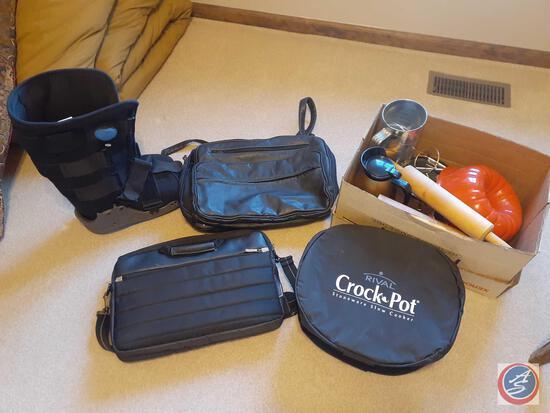 Townsend Athuasne Company EZG8 Air Walker Size Medium, Solo Laptop Bag, Rival Crock Pot Stoneware