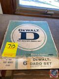 Dewalt 6'' Dado Set Saw Blades