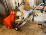 Ariens 4-5-6 HP Tractor and Snow Throw Attachment with Original Paperwork w/ 20 inch path
