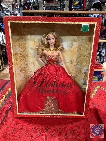 2014 holiday Barbie new inbox
