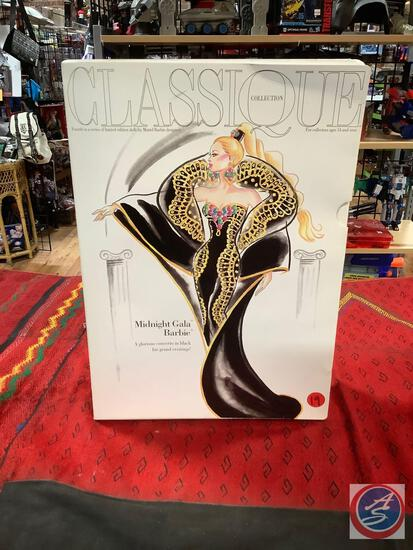 Classique collection Barbie midnight gala never removed from box some box damage