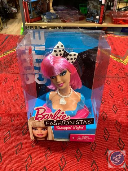 Barbie fashionistas swapping styles change Morehead new in package cutie