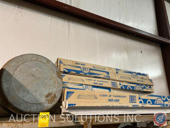 Chicken Waterer, 48 inch Fluorescent Shop Lights in Original Box Unable to Validate Condition