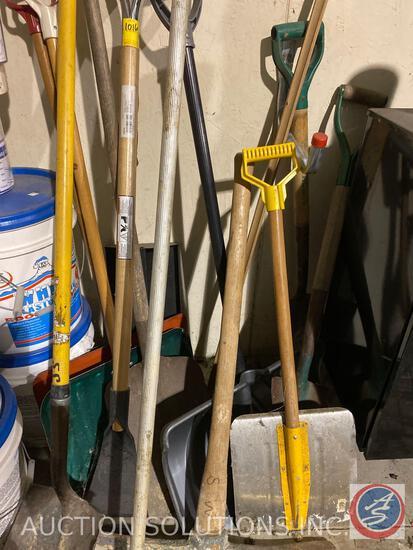 Spades, Shovels, Snow Shovels, Pick Ax, Rigid Multi Use Scraper