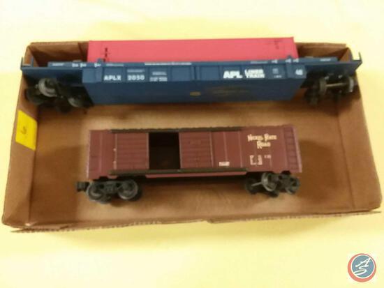 Nickel Plate Road Boxcar O Scale, Replica APL Liner Train Marked APLX 2050 O Scale
