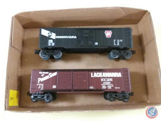 Replica Pennsylvania Rail Road 15082 and Replica Lackawanna D.L.&W. 47897 The Route of Phoebe Snow