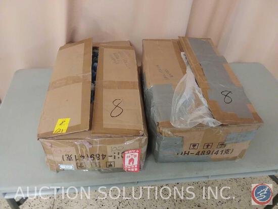 (2) Boxes of Nail Polish Bottles {{EMPTY, BRAND NEW BOTTLES}}