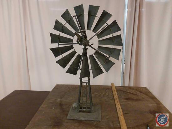 Samson Stover Windmill (Salesman Sample) Serial No. 1139....The original condition of this piece is