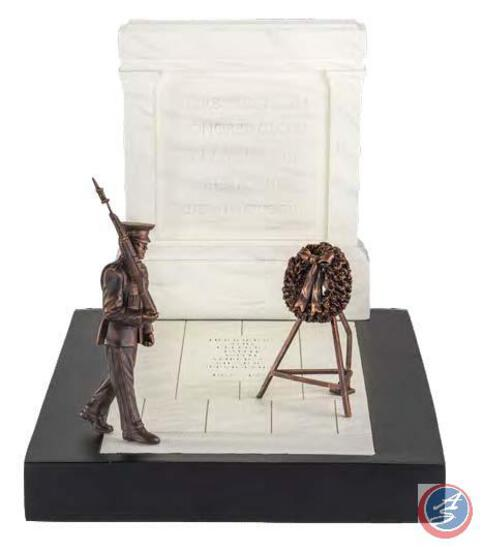 Tomb of the Unknown Soldier Sculpture In continuation of our deep appreciation for those who serve: