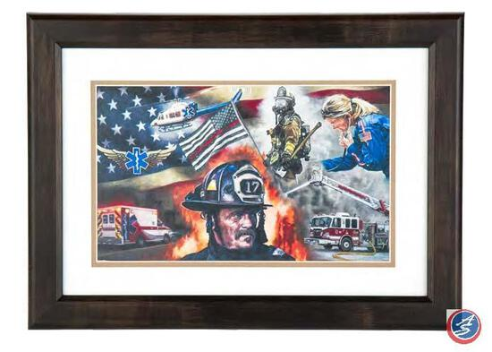 Hometown Heroes A striking visual display by beloved and highly acclaimed artist David Graham.
