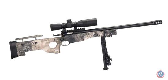 Keystone NRA Crickett... Overwatch Precision Rifle ... Caliber: .22 Long Rifle ? Action: Bolt-Action