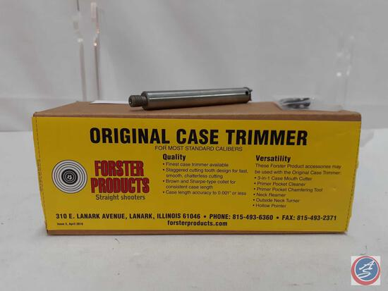Forster Products Straight Shooters Original Case Trimmer... For Most Standard Calibers