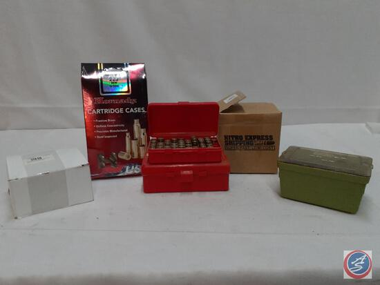Assorted...Cartridge Cases Assorted Sizes... ...