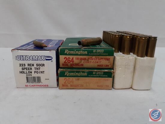 Ultramax...50 Cartridges 223 Rem 50 Grain... Speer TNT Hollow Point Remington 38 Cartridges... 246 W