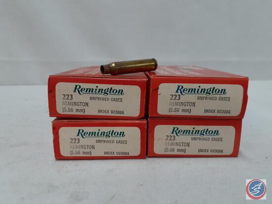 Remington... 223 Remington (5.56mm) 80 Unprimed Cases