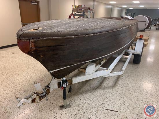1955 Chris Craft Capri 18 foot 7 inches, 6 foot 4 inch beam Pleasure boat HIN: KBL 66230