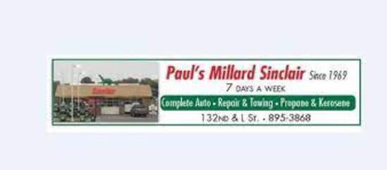 PAUL'S MILLARD SINCLAIR LIVE AUCTION