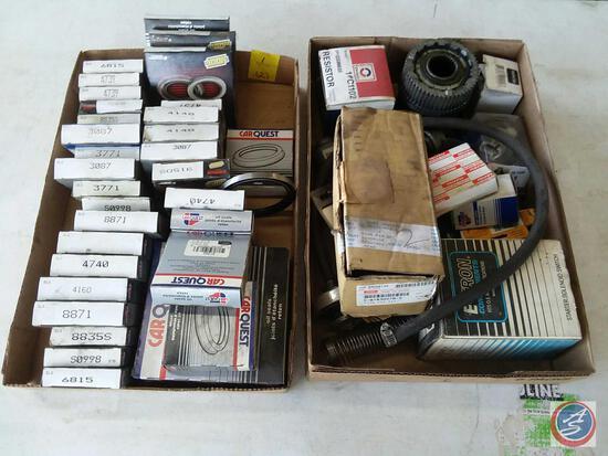 Assorted Oil Seals Including CarQuest Part No. 8871, 4160, 4740, 3771, 3087 9864s, E-Tron Components