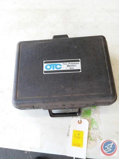 OTC Tire Pressure Monitor No. 3833 in Case