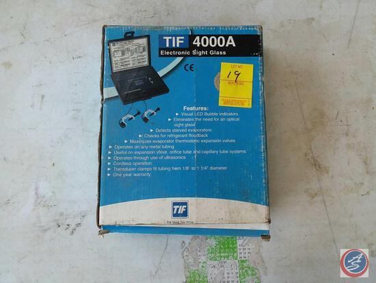 TIF 4000A Electronic Sight Glass in Original Box