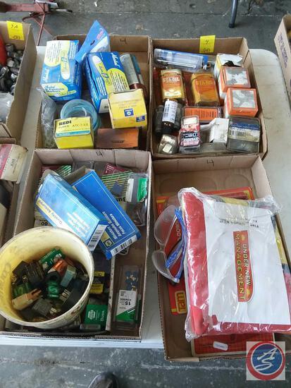 Assorted Cap Screws, Washers, Dorman Exhaust Manifold Hardware Kit Part No. 03413B, Big Ignition