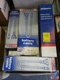 AC Delco And CarQuest Battery Cables