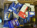 Assorted Napa and Honeywell Headlamp Replacement Bulbs
