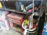 Stack On Tool Cabinet , Shop Rags and Fender Covers