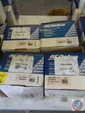 {{4X$BID}} AC Delco Alternators Part No. 334-2468, 334-1331A, 334-2477A and 334-2470A