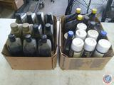 Qt Sized Containers Including Castrol Transmax Import Multi-Vehicle, GM Auto-Trak II Transfer Case