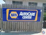 Napa Auto Care Center Sign Measuring 103'' X 34'' New In Box
