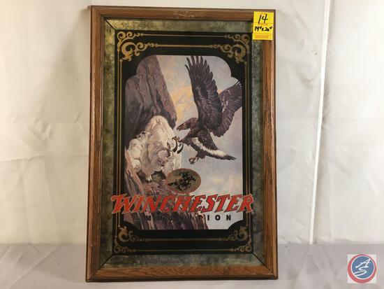 "Winchester Ammunition Eagle Framed Print 14"" x 20"""