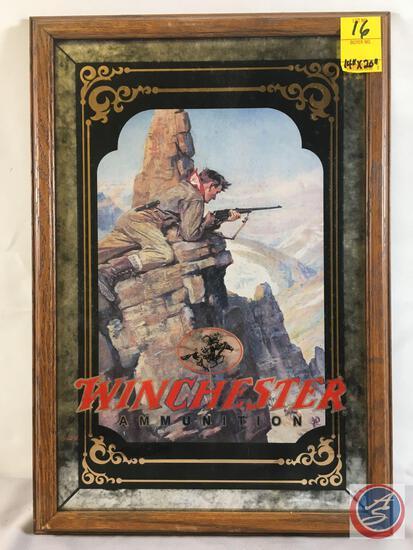 "Winchester Ammunition Hunter Framed Print 14"" x 20"""