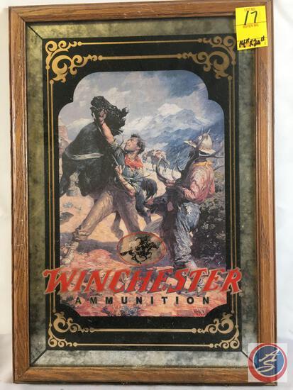 "Winchester Ammunition...Cowboy Print 14"" x 20"""