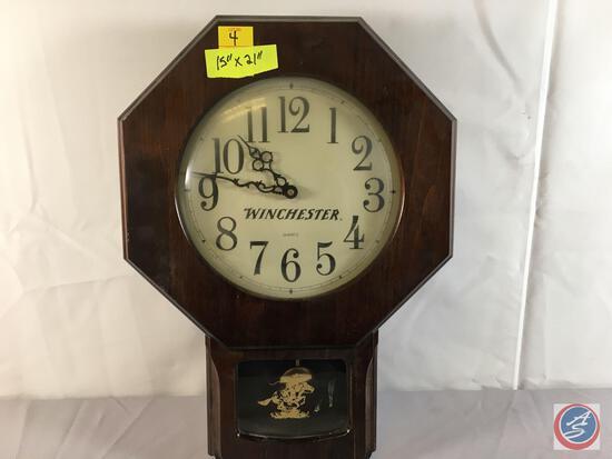 """Winchester Clock 15"""" x 21""""..."""