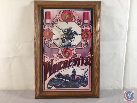 """Winchester Clock 12 1/2' x 18 1/2"""""""