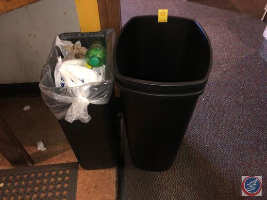 (3) Waste Paper Baskets