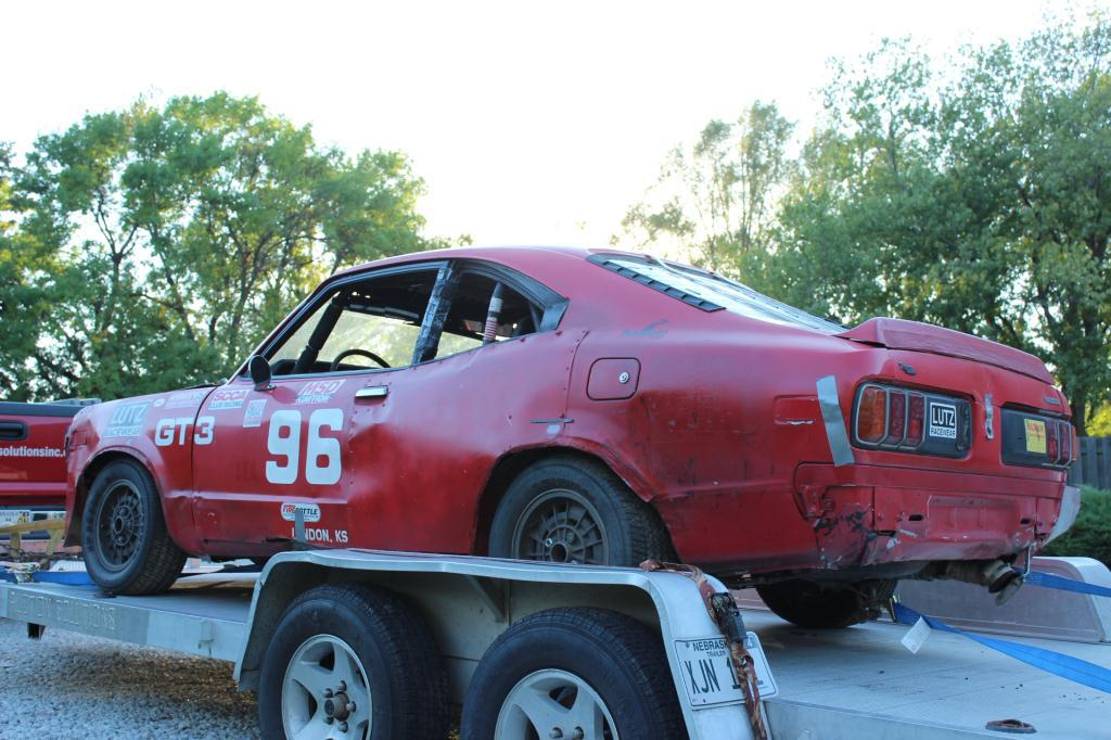1977 Mazda Rx3: Lot: 1977 Mazda RX3 GT3 Legal SCCA Race Car 1977 Mazda RX3