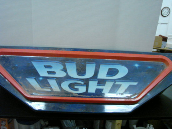 """BUD LITE"" 65"" X 20"" BAR LIGHT"