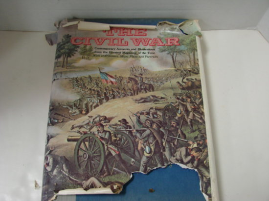 HARPERS PICTORIAL HISTORY OF THE CIVIL WAR - LARGE BOOK
