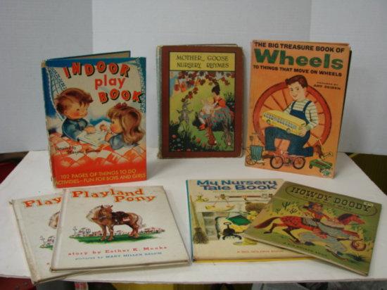 (7) VINTAGE CHILDRENS BOOKS - 50's & 60's