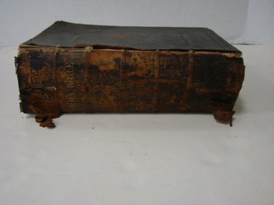 "1872 ""HOLY BIBLE""  ORIGINAL TONGUES"