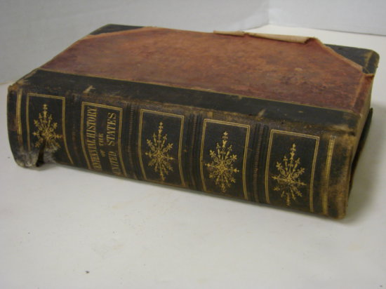 """1874 BOOK """"THE CENTENNIAL HISTORY OF THE UNITED STATES - JAMES D. McCABE"""