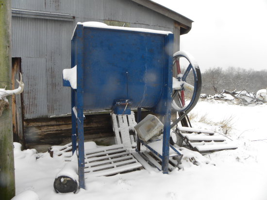 1000# commercial/industrial mixer w/ 5HP Baldor electric motor