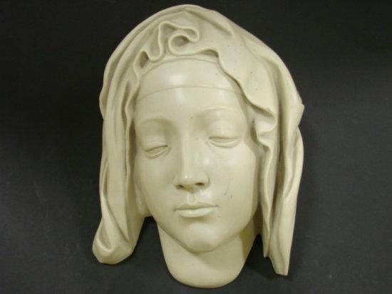 HEAD OF THE VIRGIN WALL PLAQUE - METROPOLITAN MUSEUM OF ART