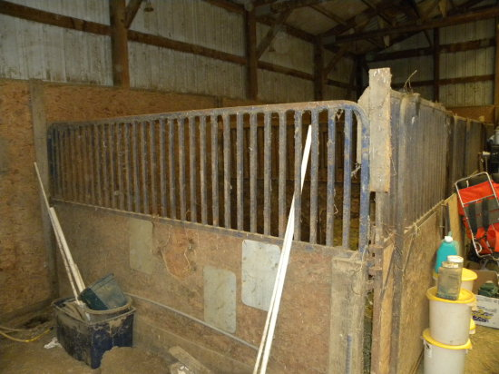 (4) BOX STALLS - TO BE REMOVED BY BUYER